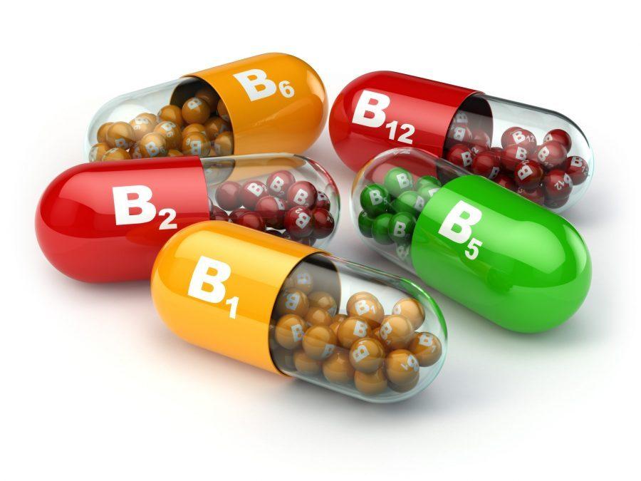 Vitamina B B1 B2 B6 B12.