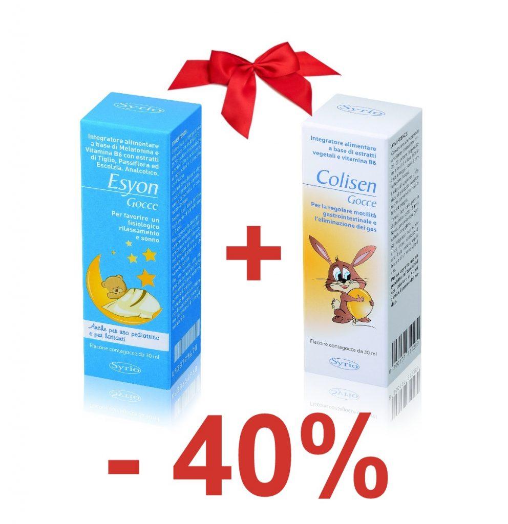 Oferta specială pentru somnul bebelușilor Esyon + Colisen